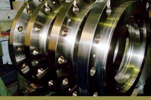 Esempio di trattamento su superficie metallica
