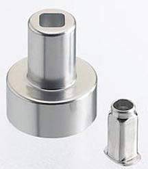 Componenti metallici con trattamento antiattrito