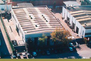 Foto della sede Nicasil vista dall'alto