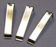 Componenti metallici trattati con nichelatura