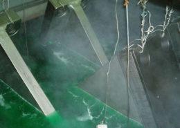 nichelatura chimica - immersione in vasca