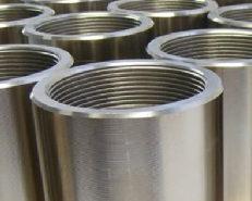 Componenti metallici con superfici trattate
