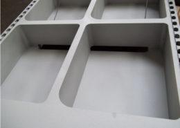 Componente metallico con superficie trattata