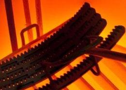 Esempio di trattamento termico su componenti metallici