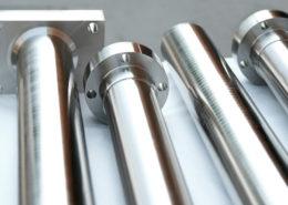 Manufatti di alluminio nichelato